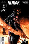 Cover for Ninjak (Valiant Entertainment, 2015 series) #17 [Cover A - Lewis LaRosa]