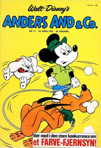 Cover Thumbnail for Anders And & Co. (Egmont, 1949 series) #17/1972
