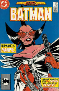 Cover Thumbnail for Batman (DC, 1940 series) #401 [Second Printing]