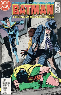 Cover for Batman (DC, 1940 series) #416 [Direct Sales Variant]