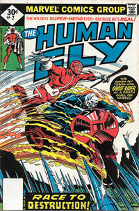 Cover Thumbnail for The Human Fly (Marvel, 1977 series) #2 [Whitman]