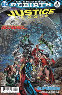 Cover Thumbnail for Justice League (DC, 2016 series) #4 [Fernando Pasarin Cover Variant]
