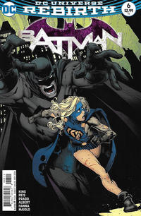 Cover Thumbnail for Batman (DC, 2016 series) #6 [David Finch]