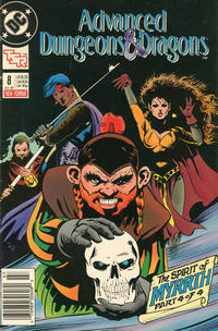 Cover for Advanced Dungeons & Dragons Comic Book (DC, 1988 series) #8 [Direct]