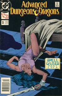 Cover for Advanced Dungeons & Dragons Comic Book (DC, 1988 series) #13 [Direct]