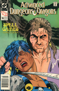 Cover for Advanced Dungeons & Dragons Comic Book (DC, 1988 series) #16 [Direct]