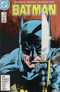 Cover for Batman (DC, 1940 series) #422 [Direct]