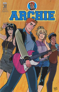 Cover Thumbnail for Archie (Archie, 2015 series) #11 [Cover B - Sanya Anwar]