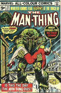 Cover Thumbnail for Man-Thing (Marvel, 1974 series) #22 [British]
