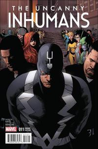 Cover Thumbnail for Uncanny Inhumans (Marvel, 2015 series) #11 [Civil War Reenactment Variant]