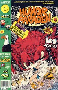 Cover Thumbnail for Humorparaden (Semic, 1992 series) #4/1992