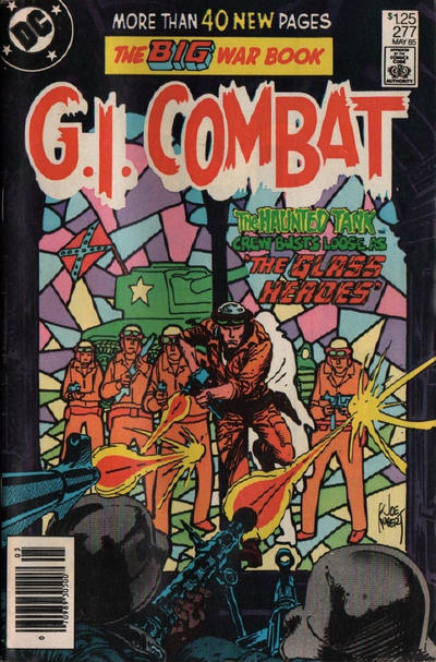 Cover for G.I. Combat (DC, 1957 series) #277 [Direct Sales Variant]