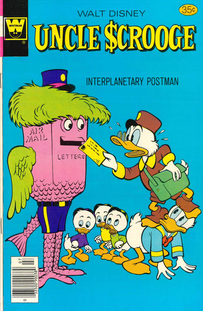 Cover for Uncle Scrooge (Western, 1963 series) #154 [Gold Key]