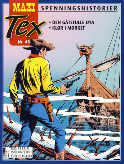Cover for Maxi Tex (Hjemmet / Egmont, 2008 series) #48