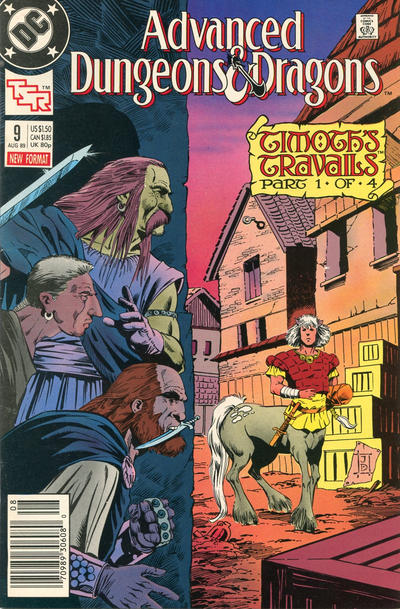 Cover for Advanced Dungeons & Dragons Comic Book (DC, 1988 series) #9 [Direct]