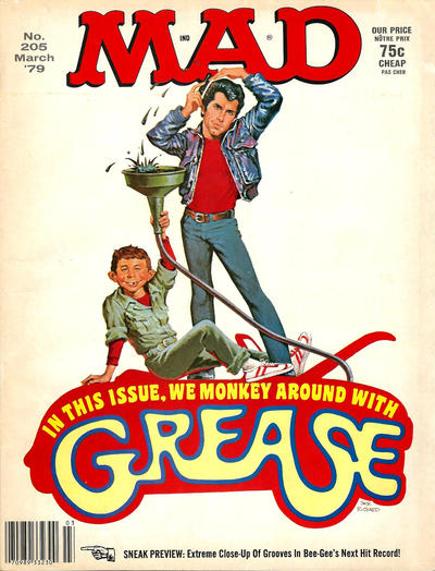 Cover for MAD (EC, 1952 series) #205