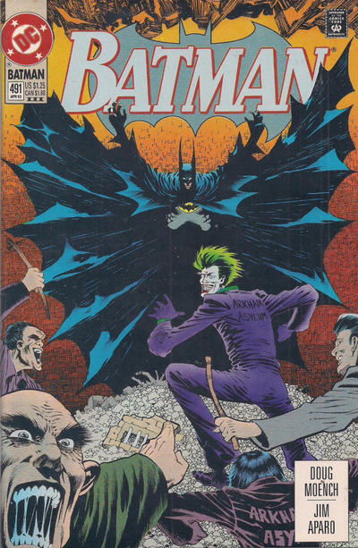 Cover for Batman (DC, 1940 series) #491