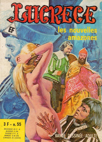 Cover for Lucrece (Elvifrance, 1972 series) #55