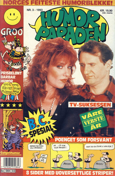 Cover for Humorparaden (Semic, 1992 series) #3/1993