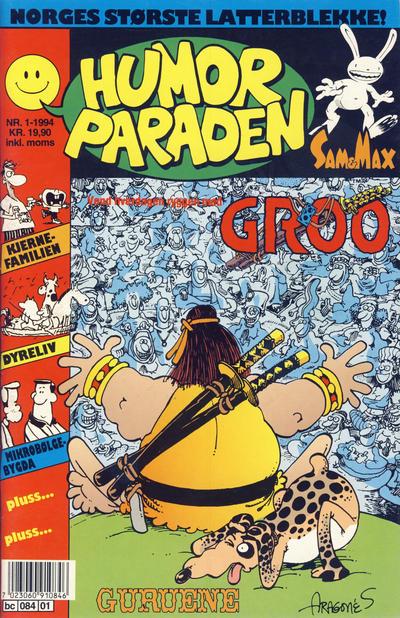 Cover for Humorparaden (Semic, 1992 series) #1/1994