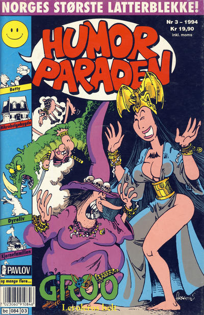 Cover for Humorparaden (Semic, 1992 series) #3/1994