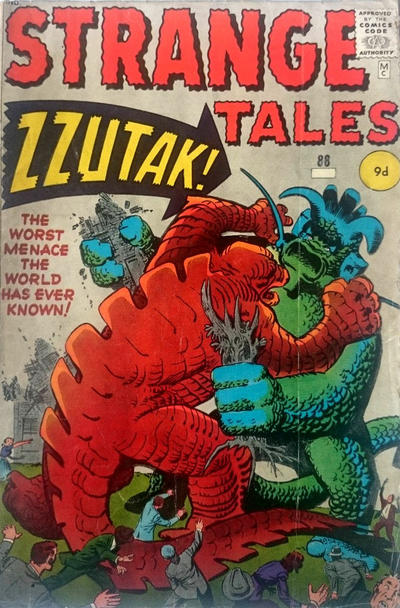 Cover for Strange Tales (Marvel, 1951 series) #88
