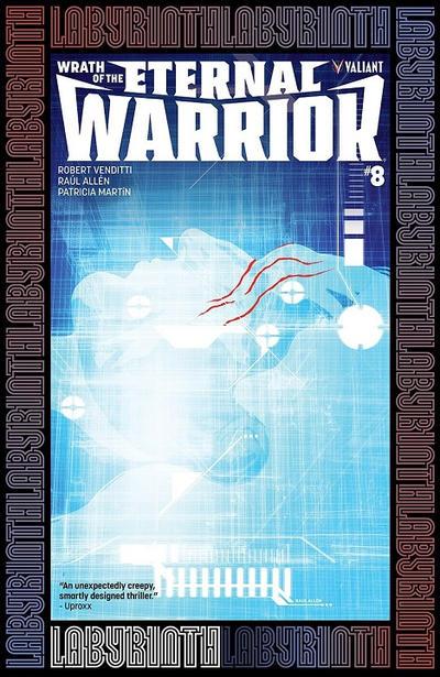 Cover for Wrath of the Eternal Warrior (Valiant Entertainment, 2015 series) #8 [Cover D - Stephen Segovia]