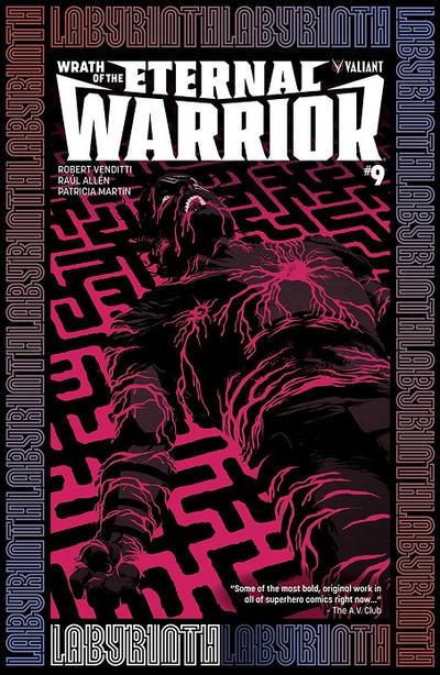 Cover for Wrath of the Eternal Warrior (Valiant Entertainment, 2015 series) #9 [Cover B - Raúl Allén]