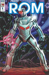 Cover for ROM (IDW, 2016 series) #1 [RI-C Cover - Sal Buscema]