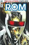 Cover for ROM (IDW, 2016 series) #2 [Zach Howard Cover]