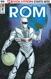 Cover for ROM (IDW, 2016 series) #2 [Mike Allred Cover]