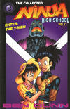 Cover for The Collected Ninja High School (Antarctic Press, 1994 series) #12 - Enter: The Y-Men