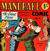 Cover for Mandrake Comic (Consolidated Press, 1953 series) #9