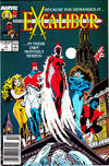 Cover for Excalibur (Marvel, 1988 series) #1 [Newsstand Edition]