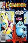 Cover for Excalibur (Marvel, 1988 series) #2 [Newsstand Edition]