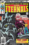 Cover for The Eternals (Marvel, 1976 series) #1 [British Price Variant]