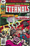 Cover for The Eternals (Marvel, 1976 series) #2 [British Price Variant]