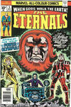 Cover for The Eternals (Marvel, 1976 series) #5 [British Price Variant]
