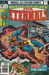 Cover for The Eternals (Marvel, 1976 series) #3 [British Price Variant]