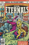 Cover Thumbnail for The Eternals (1976 series) #8 [British Price Variant]