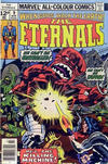 Cover for The Eternals (Marvel, 1976 series) #9 [British Price Variant]
