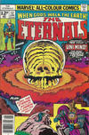 Cover Thumbnail for The Eternals (1976 series) #12 [British Price Variant]