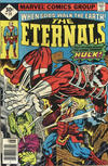 Cover for The Eternals (Marvel, 1976 series) #14 [Whitman Edition]