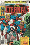 Cover for The Eternals (Marvel, 1976 series) #17 [British Price Variant]