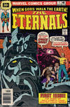 Cover for The Eternals (Marvel, 1976 series) #1 [30¢ Price Variant]