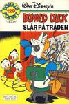 Cover Thumbnail for Donald Pocket (1968 series) #129 - Donald Duck slår på tråden [1. opplag]