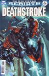 Cover for Deathstroke (DC, 2016 series) #2 [Shane Davis / Michelle Delecki Cover]