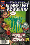Cover Thumbnail for Star Trek: Starfleet Academy (1996 series) #13 [Newsstand Variant]