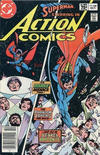 Cover Thumbnail for Action Comics (1938 series) #548 [Canadian Newsstand Edition]