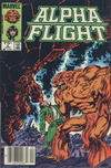 Cover for Alpha Flight (Marvel, 1983 series) #9 [Canadian]